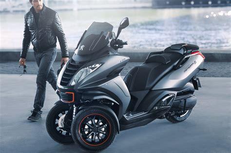 peugeot pr 233 pare un nouveau scooter 3 roues pour 2018