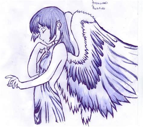 imagenes de angeles y demonios para dibujar a lapiz dibujos de angeles a lapiz best graffiti collection
