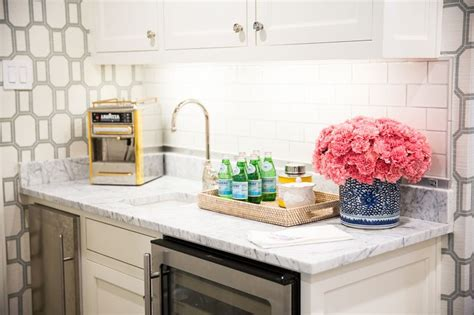 amy berry design butlers pantry with wine cooler and mini fridge
