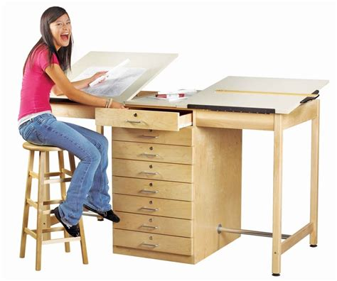 drafting table with storage 17 best images about tables and storage on