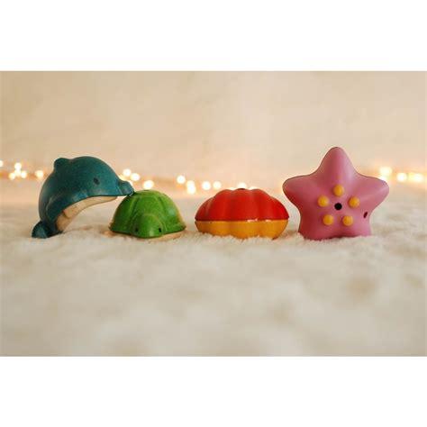 Plan Toys Sea Bath Set Pt5658 plan toys sea bath set