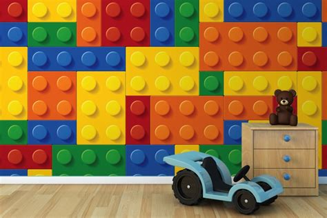 Lego Bedroom Wallpaper Uk Lego Wall Murals Colourful Lego Wallpaper Wall Mural