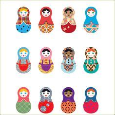 russian doll wall stickers 1000 images about russian dolls on dolls