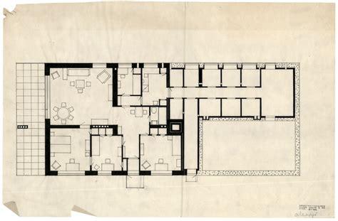 alvar aalto floor plans stepped terrace house 183 architecture navigator