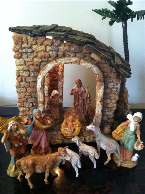 fontanini 5 quot heirloom nativity 10 pc figure set and