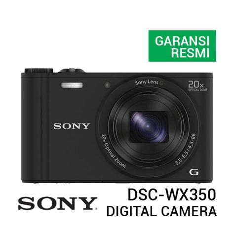 Jual Kamera Digital Sony by Jual Sony Dsc Wx350 Cyber Digital Harga Dan