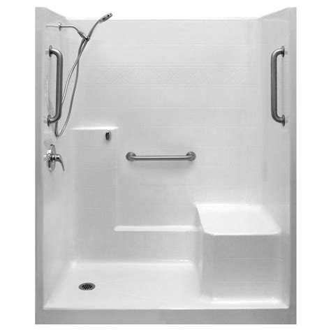 Left Drain Shower Kit by 25 Best Ideas About Shower Stall Kits On