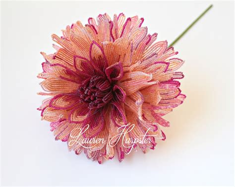 beaded flowers beaded flower home decor s creations
