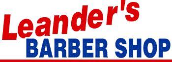 leander's barber shop in kent, ohio