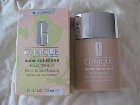 Foundation Clinique babble review clinique acne solutions foundation