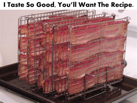 Shelf Bacon by Kickstarter Quot Baconness Zone Quot Bacon Rack