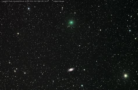 41p tuttle giacobini kresak comet 41p tuttle giacobini kresak and ngc 2903 ngc 2916