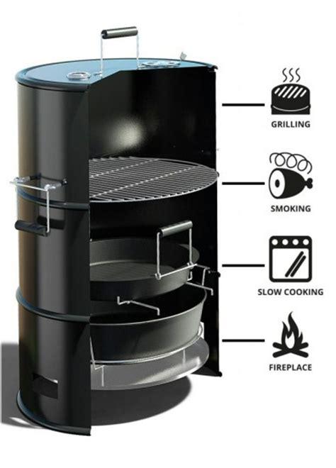 Gallon Drum Fire Pit - barrel bbq food smoker batavia barrel food smoke amp grill