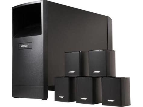 Bose Acoustimass 6 Speaker System bose acoustimass 6 series v home theater speaker system newegg