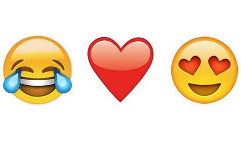 imagenes del emoji enamorado este es el emoji m 225 s usado en el mundo actualidad