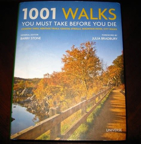 hiking lady book review 1001 walks you must take before you die hiking lady