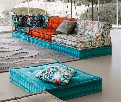 roche bobois mah jong sofa in jean paul gaultier designed