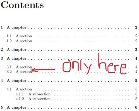 Latex Tutorial Table Of Contents | classicthesis how to add custom space in table of