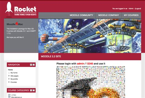moodle theme rocket moodle in english rocket theme updated now v1 0 stable