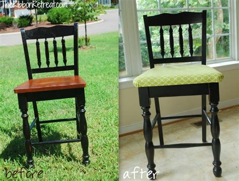 Re Upholstery Of Dining Room Chairs by How To Upholster Dining Room Chairs The Ribbon Retreat
