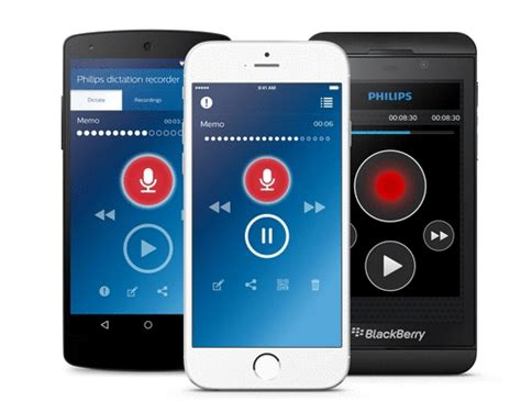 dictation for android philips dictation app license for apple android windows and blackberry