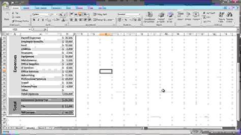 7 income statement excel procedure template sle