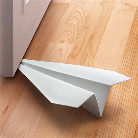 paper airplane place card template paper airplane doorstop the green