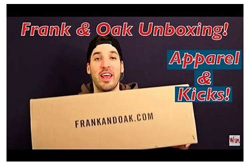 frank & oak coupon code