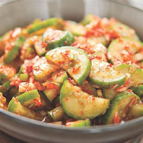 cucumber recipe authentic korean cucumber kimchi recipe