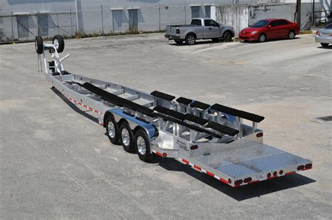 how big a boat can you trailer who makes aluminum gooseneck boat trailer east coast