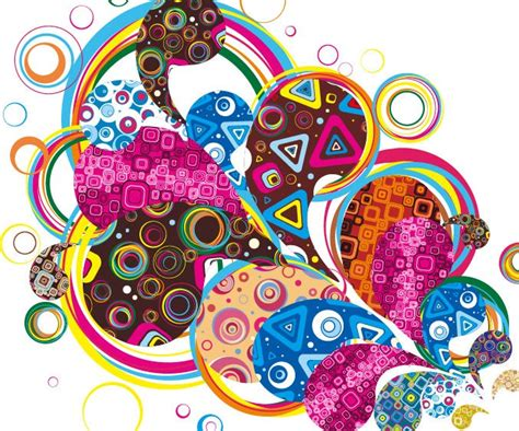 colorful designs colorful design abstract vector graphic free vector