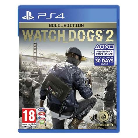 Kaset Ps4 Dogs 2 Watch Dogs 2 Cz Gold Edition Ps4