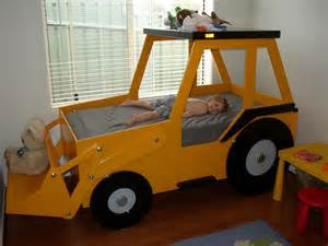 Toddler Boy Truck Bed Front End Loader Bed Woodworking Plan By Plans4wood Ebay