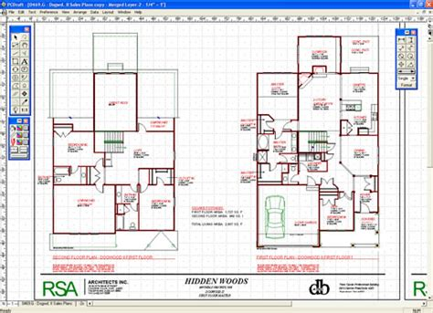 Architectural Drawing Program | architectural cad drawings home designer