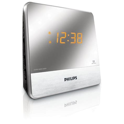 cool new electronics new electronic gadgets philips mirror finish clock radio
