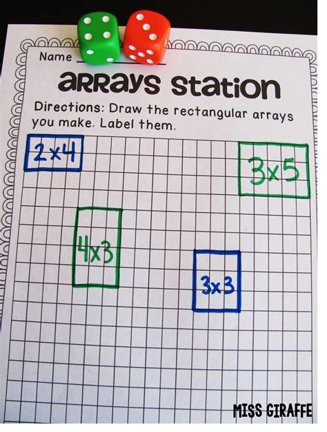 array tutorial construct 2 miss giraffe s class how to teach arrays