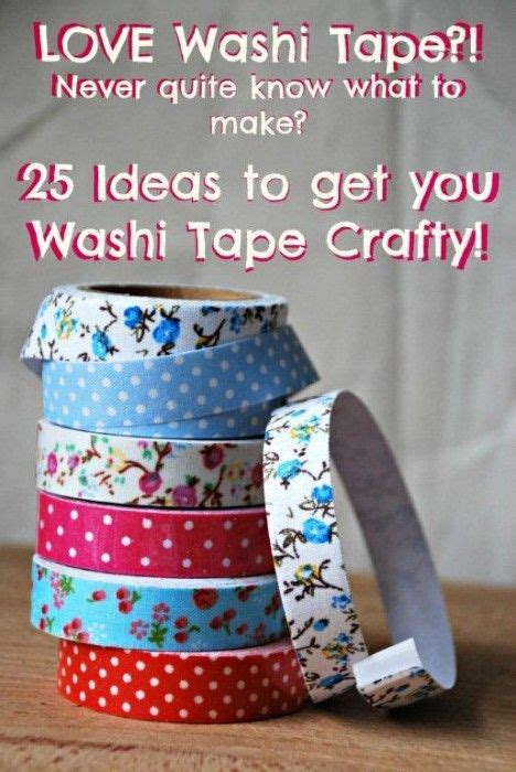 washi tape craft ideas 1000 images about washi tape on pinterest