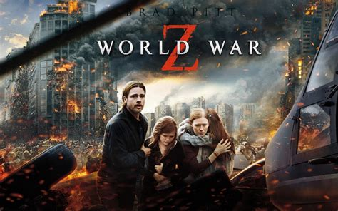 film action zombie world war z 2 clips with brad pitt and crazy zombies
