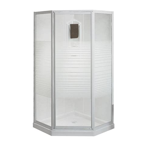 maax cosmos 38 inch 3 shower stall the home depot