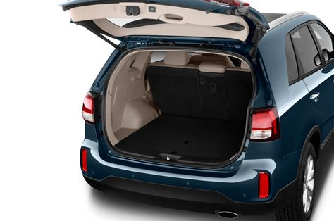 Kia Trunk 2016 Kia Sorento Revealed With More Space Updated Styling