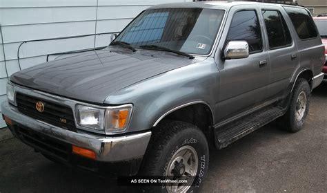 1995 Toyota 4runner 1995 Toyota 4runner Sr5 V6 4x4