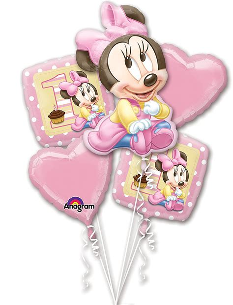 St Three Mickey Polka 1 minnie mouse 1st birthday birthday wikii