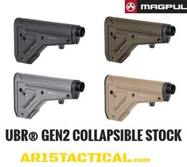 ubr 2 0 collapsible ar15 stock | magpul ubr | ar15tactical.com