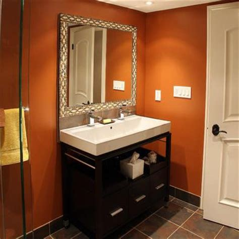burnt orange bathroom burnt orange bathroom home sweet home pinterest burnt orange bathrooms orange bathrooms
