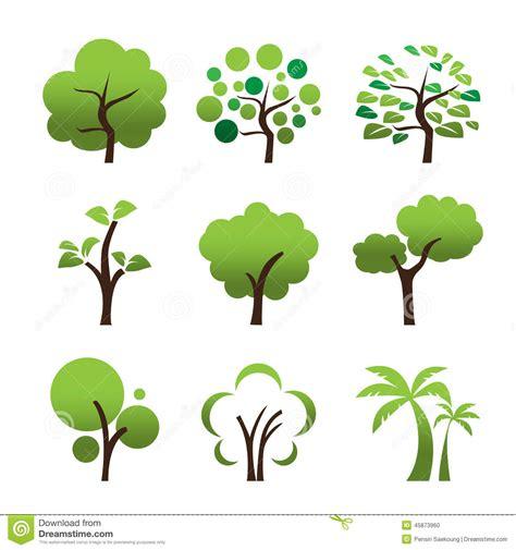 tree symbol tree icon stock vector image 45873960