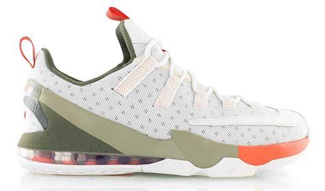 Lebron 13 Low White nike lebron 13 low white olive orange 849783 002 sneaker bar detroit