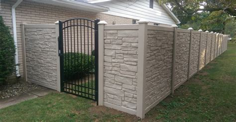Top Paint Colors 2017 paramount fence simtek fence installation in michigan
