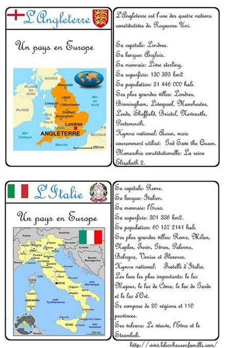 litalien est un jeu 2290013889 carte d identit 233 pays angleterre et italie ecole langue fran 231 ais et italien