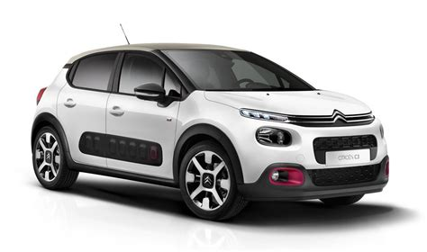 citroen c3 2018 citroen c3 special edition has cherry pink accents