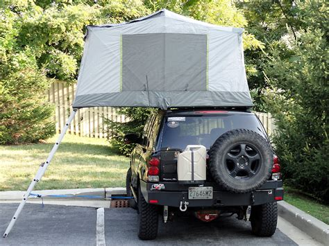 homemade 4wd awning popup car top and attached cing tents build a green rv